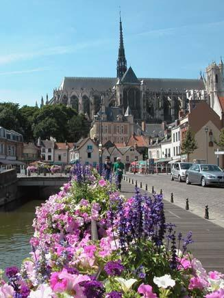 """Rudskin who had fallen under the charm of the Amiens Cathedral, wrote """"the Amiens Bible"""""""