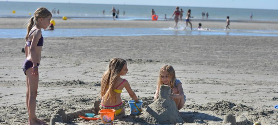 Family fun on northern France's safe, sandy beaches