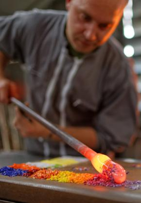 Learn the art of glass-blowing from master artisans