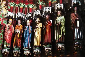 Colorisation cathédrale Amiens