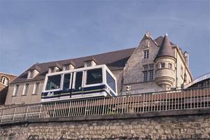 Le funiculaire de Laon dans l'Aisne en Picardie