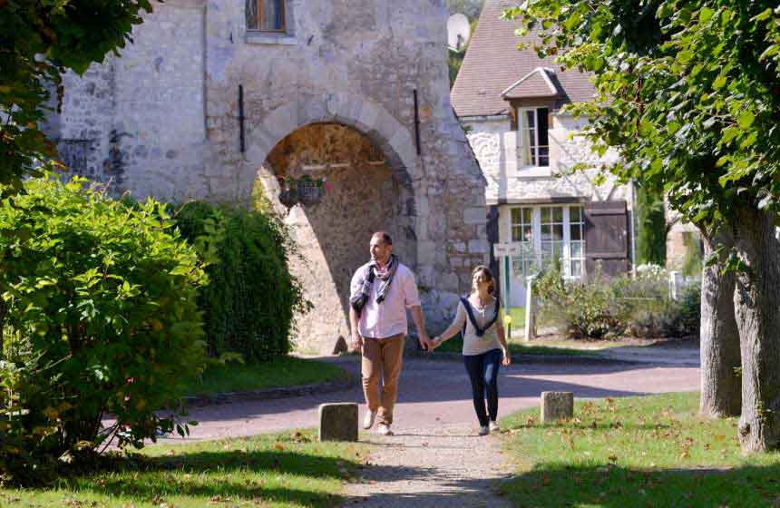 The nearby charming village of Saint-Jean-aux-Bois, Northern France