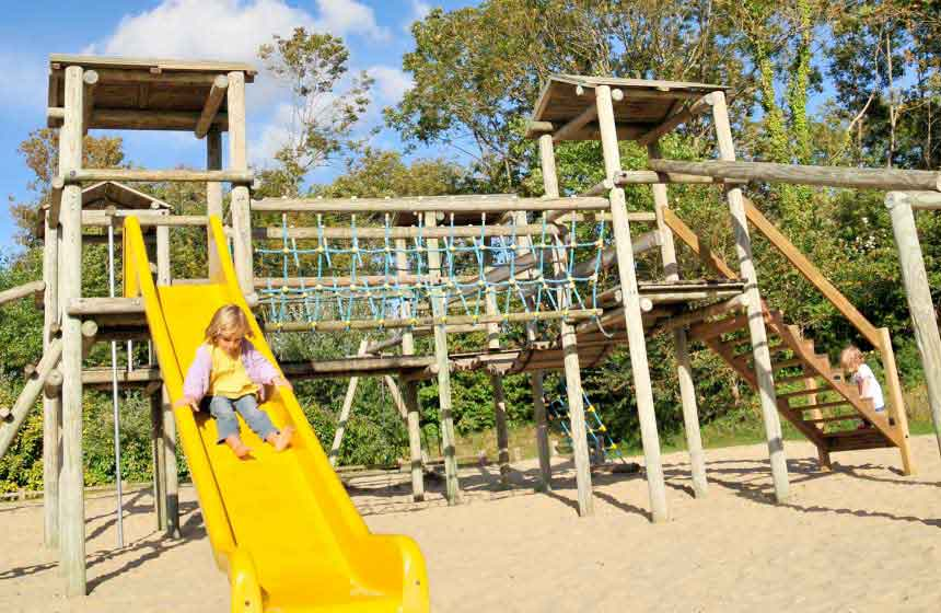 Play areas at the Domaine de Diane, Quend-Plage