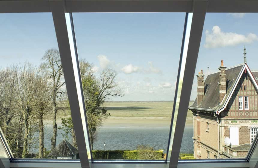 B&B Boisfontaine - View of the Somme Bay - Saint Valéry sur Somme