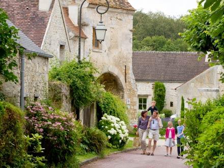 The charming village of Saint Jean aux Bois