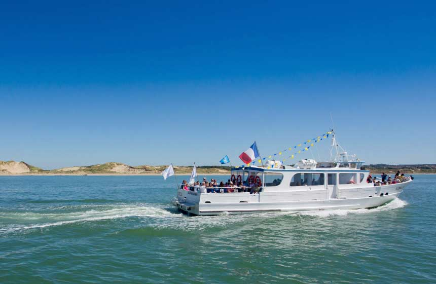 Departing from Boulogne sur Mer, enjoy a boat trip on board the 'Florelle' during your romantic weekend break in Northern France