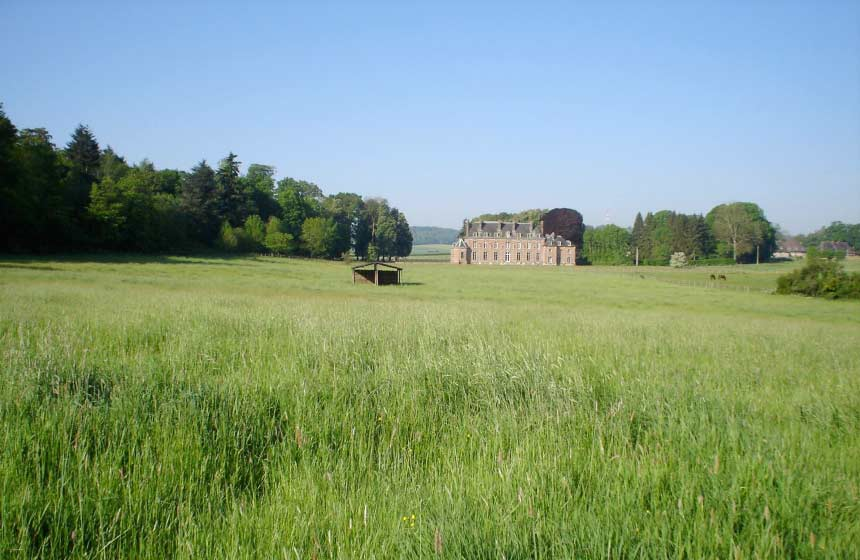 French chateau B&B the Château d'Auteuil enjoys the most peaceful countryside setting
