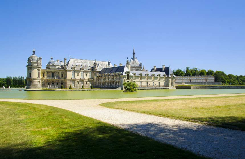 Majestic Château de Chantilly – just a 10-minute walk from the hotel - is undisputedly one of Northern France's most inspirational sights