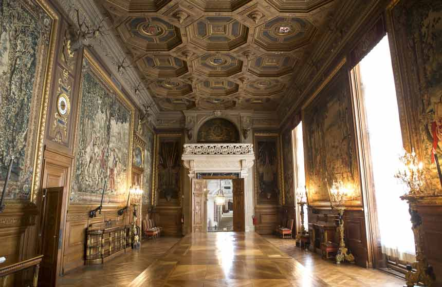 Chantilly castle - Prince Conde Museum
