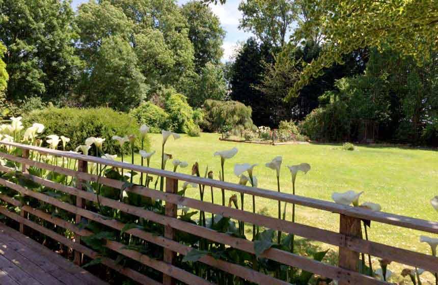 Domaine des Celestins - Garden view - Bernay en Ponthieu