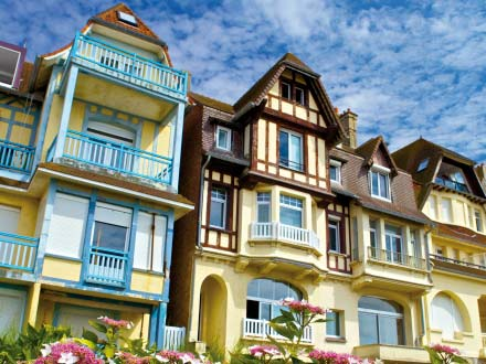 The seaside resort of le Touquet