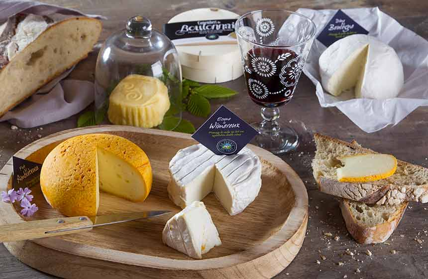 Ferme du Vert's cheeses are an absolute treat!