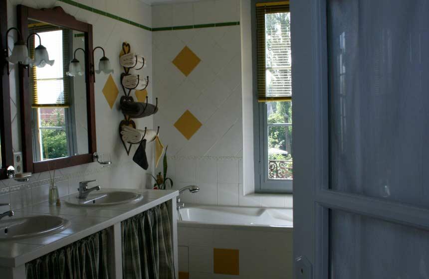 Guesthouse La Chaise Verte - Bathroom - La Houssoye