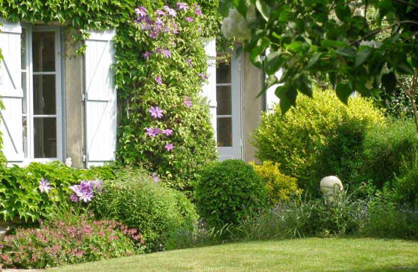 Guesthouse La Chaise Verte - Beautiful garden - La Houssoye