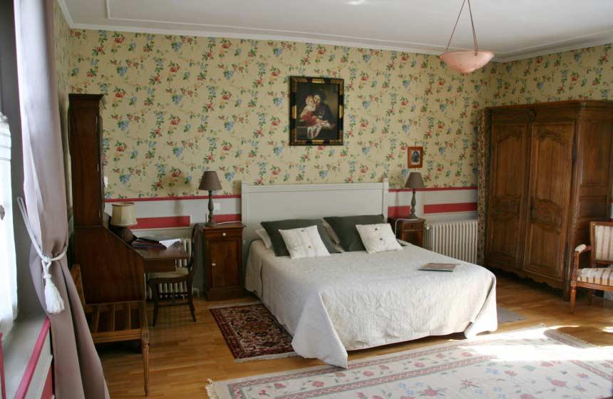 Guesthouse La Chaise Verte - Traditional room - La Houssoye