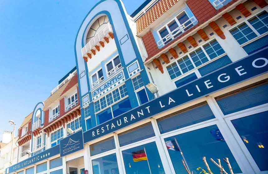 The Atlantic Hotel in Northern France's Wimereux ‒ on the Opal Coast and close to Calais