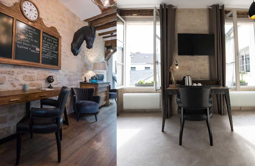Hôtel Le Chantilly is a small hotel oozing character and understated French elegance