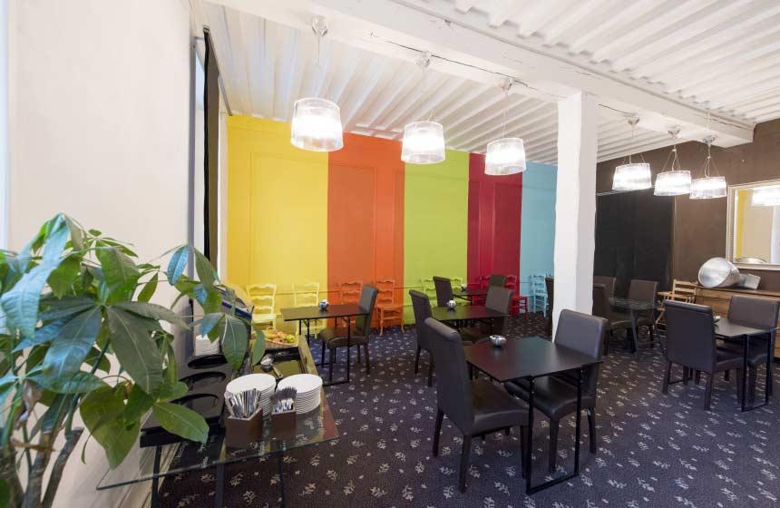 Hotel Le Prieuré - Breakfast room - Amiens