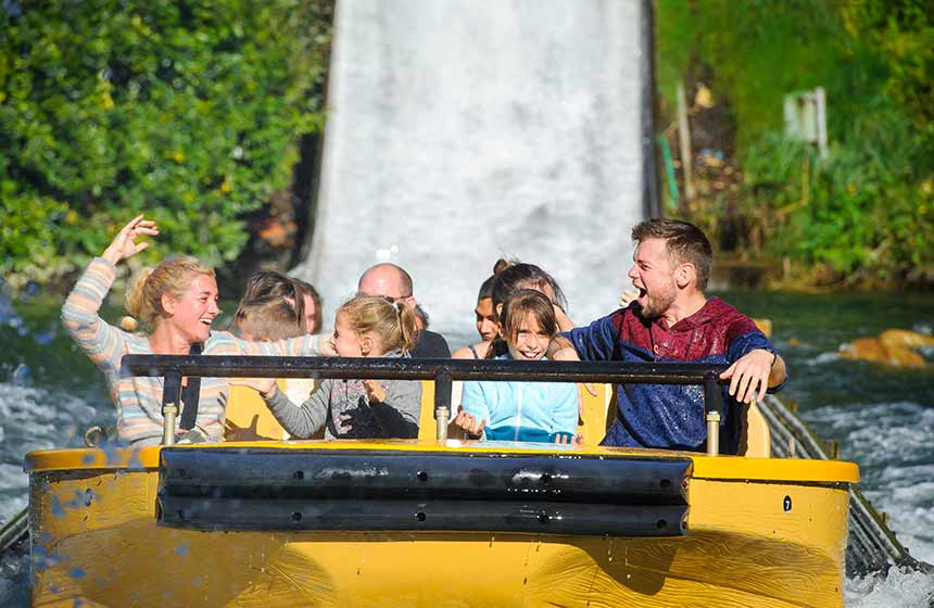 Enjoy a fun-filled family day out at Parc-Astérix theme park near Paris in Northern France