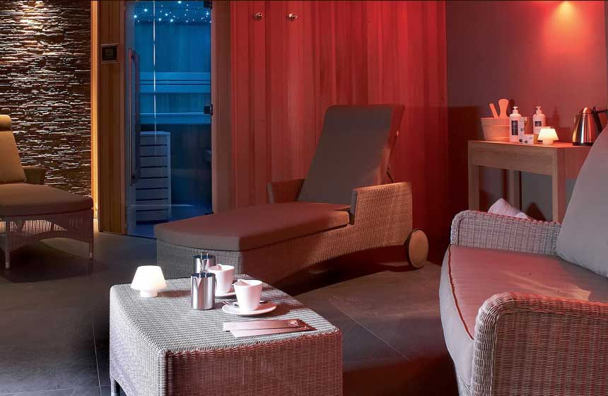 Wellbeing facilities at the Atlantic Hotel in Wimereux, Northern France