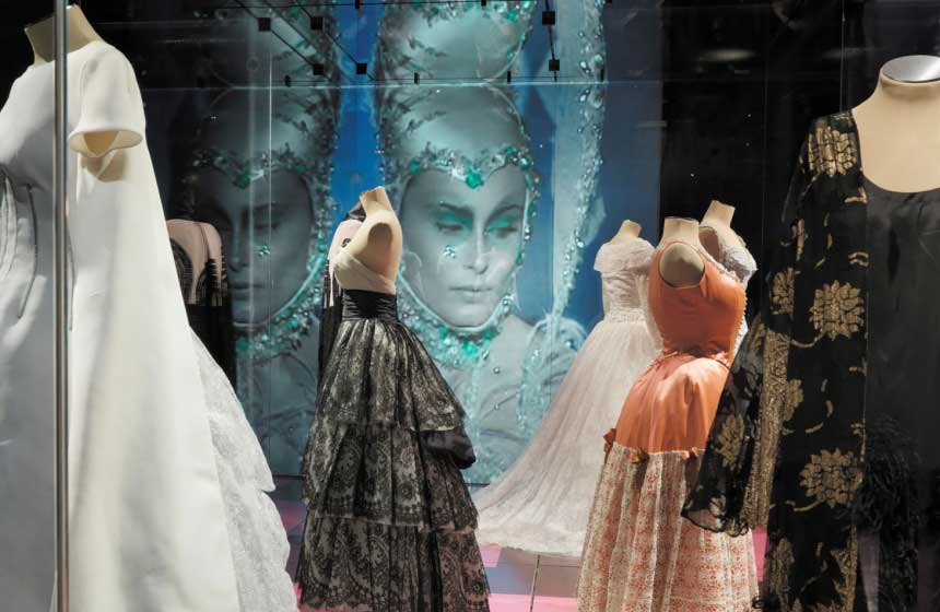 The state of the art 'Cité de la Dentelle et de la Mode' is a vast cultural centre in Calais dedicated to lace and fashion