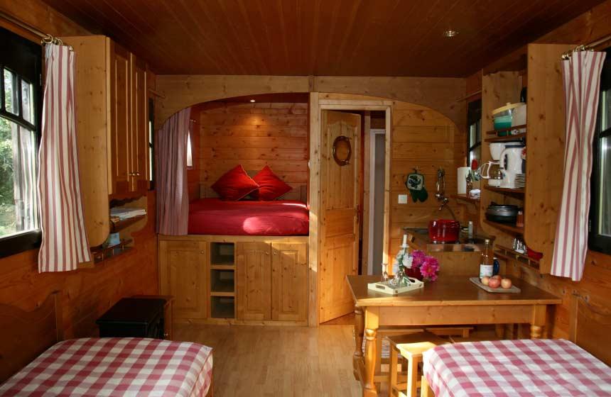La Maison de l'Omignon - Traditional roulotte - Vermand
