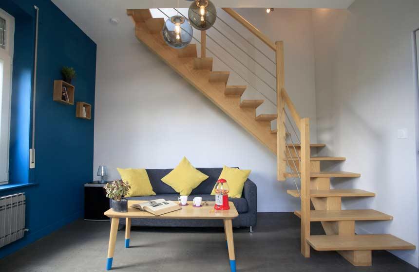 La Sweet duplex room at Monts et Merveilles B&B