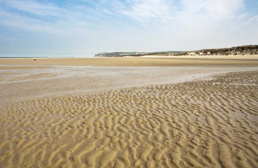 The beach at Wissant is officially one of 'France's most beautiful beaches'