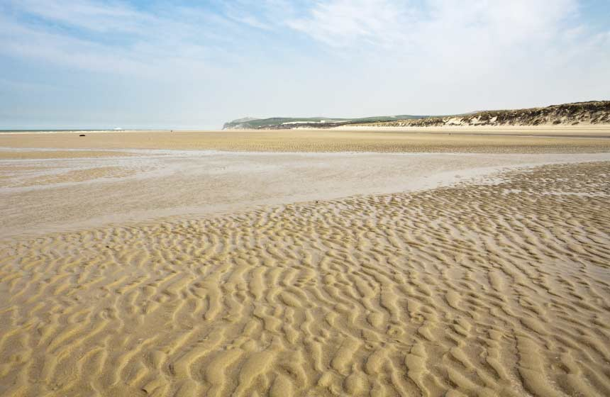 The beach at Wissant is officially one of 'France's Top Ten most beautiful beaches'