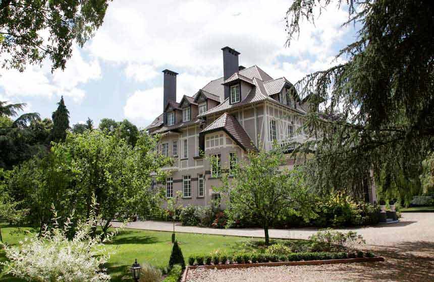 Fresnoy-en-Gohelle chateau hotel, Pas-de-Calais, Northern France