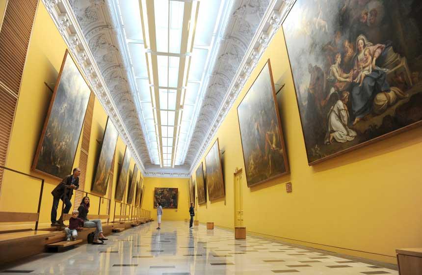 The 'Musée des Beaux Arts' Fine Arts Museum in Arras