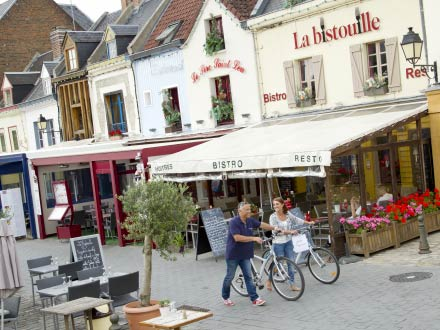 Amiens' colourful Saint-Leu district