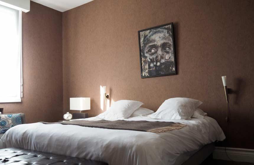 Le cercle de malines bedroom