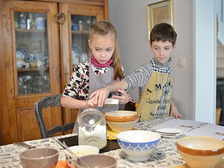 Kids' patisserie workshop with Marie Lüder