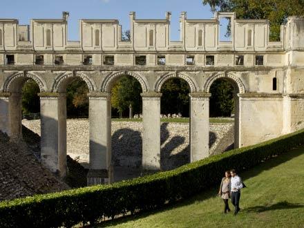 The ruins of Château de Fère en Tardenois