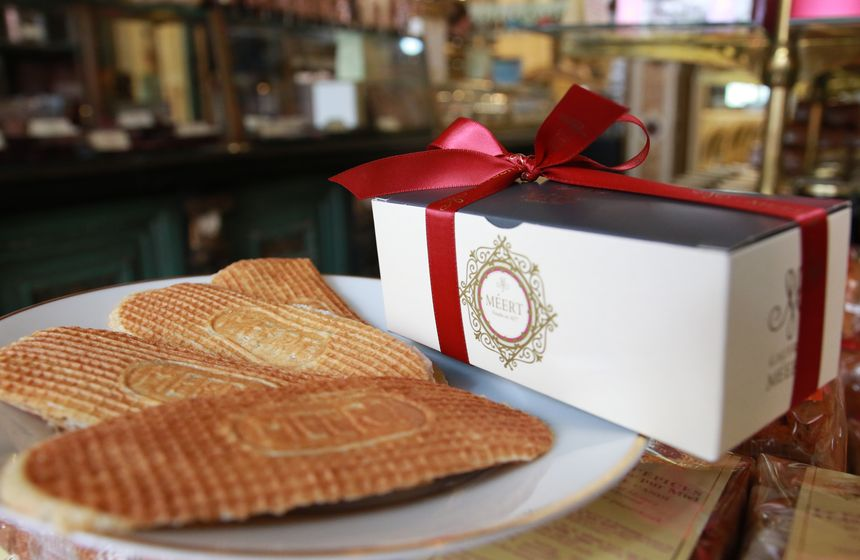 Waffles from Lille's Patisserie Meert is a must on your romantic weekend break in Northern France