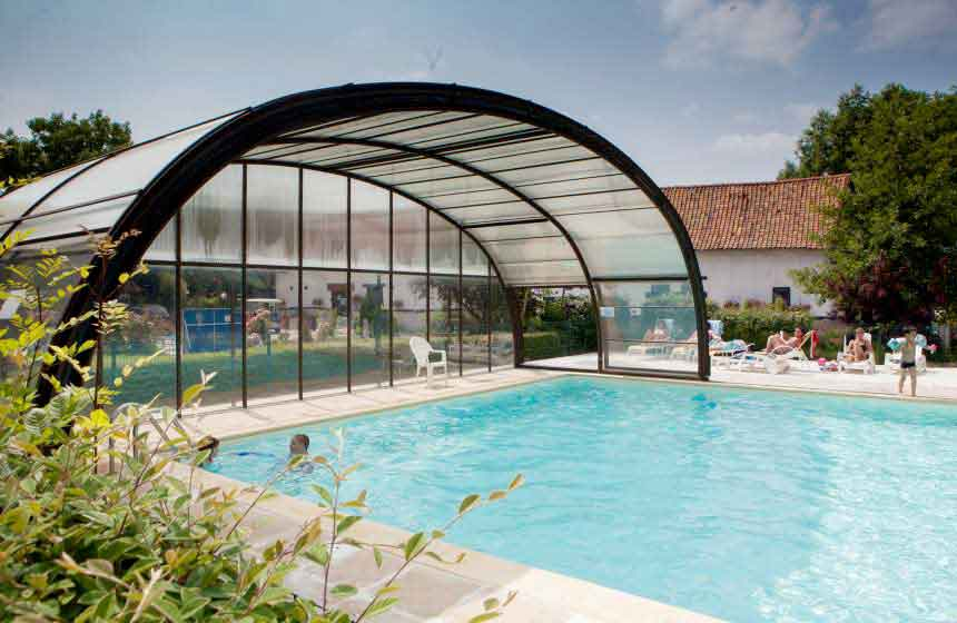 Ferme des Aulnes is one of Northern France's campsites with pool