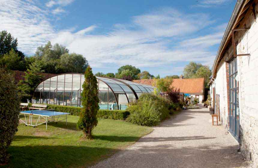 Camping Ferme des Aulnes - a campsite with pool for all weathers!