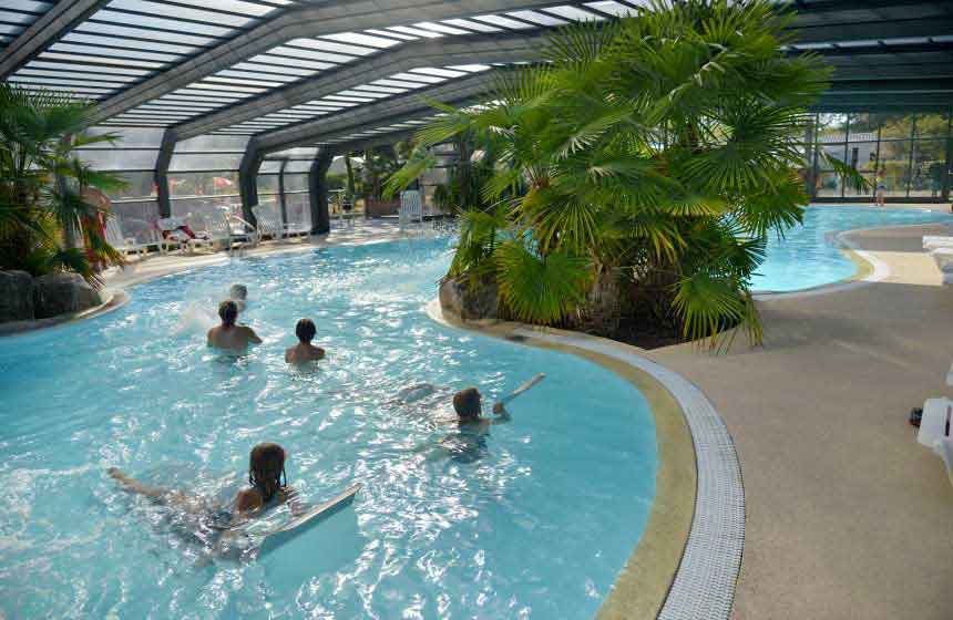 Pool at the Domaine de Diane, Quend-Plage