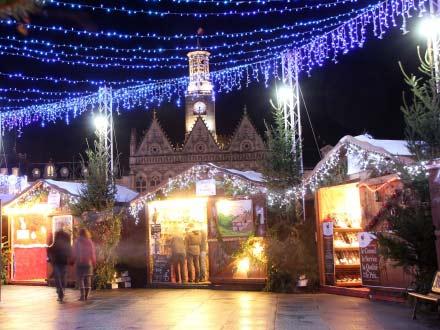 Christmas market at Saint Quentin