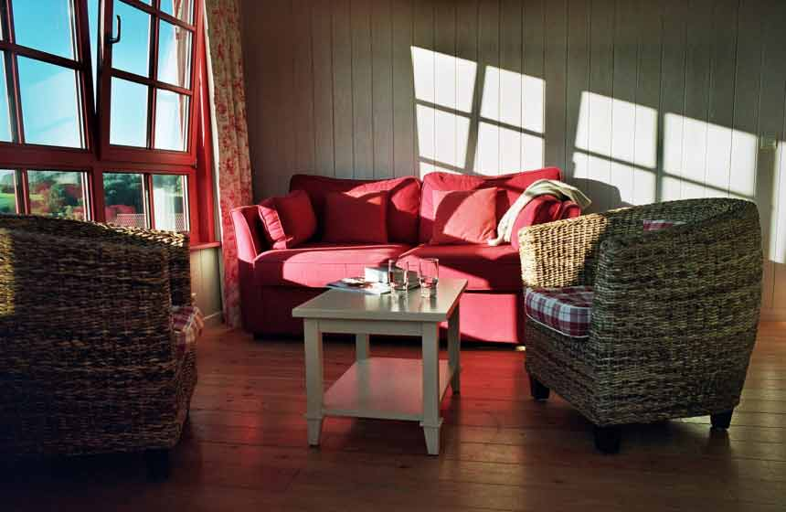 Holiday cottage at the eco-friendly resort Domaine du Val, northern France