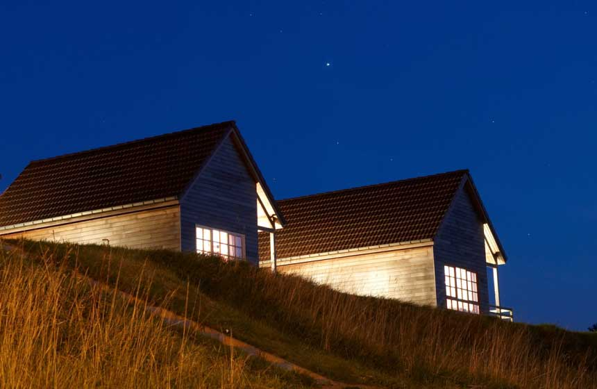 Sustainable family resort near the beach in northern France : Domaine du Val