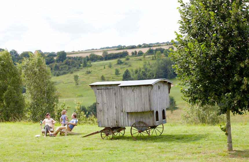 Rural retreat near the beach at Domaine du Val eco-friendly family resort, northern France