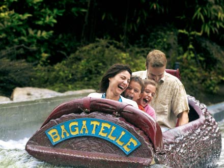 Parc Bagatelle theme park in Merlimont, Northern France
