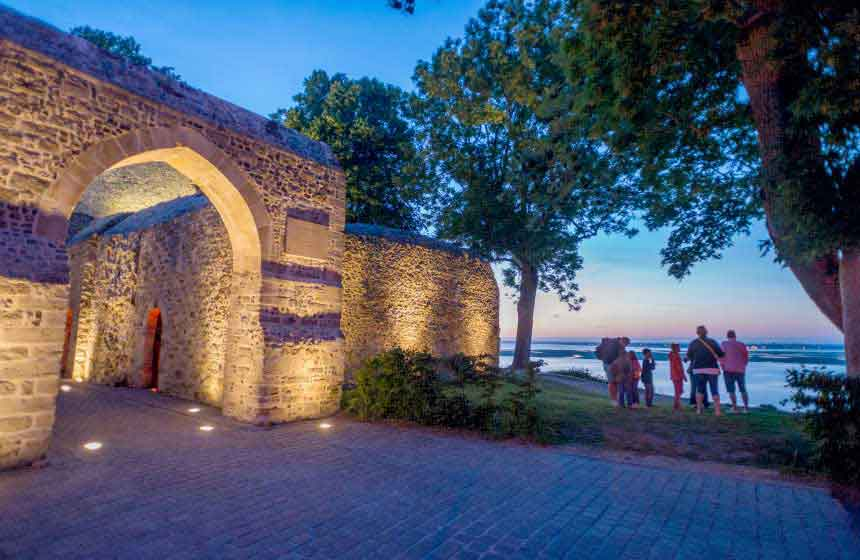 Saint-Valery-sur-Somme has many strings to its bow, not least its medieval ramparts offering stunning views of the bay