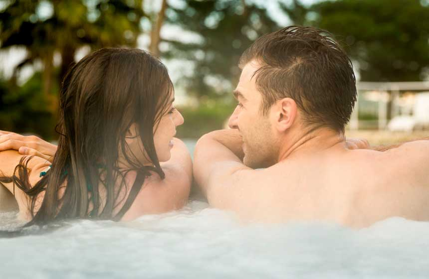 Whether it's amongst friends, or just the two of you, a little time in the hot tub provides all the relaxation you need on your French gite holiday