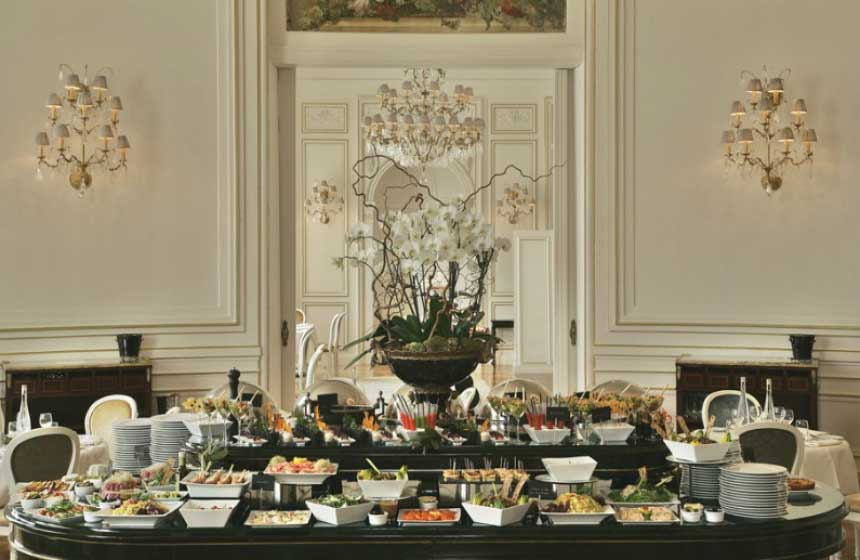 Tiara Mont Royal Chantilly - Buffet breakfast