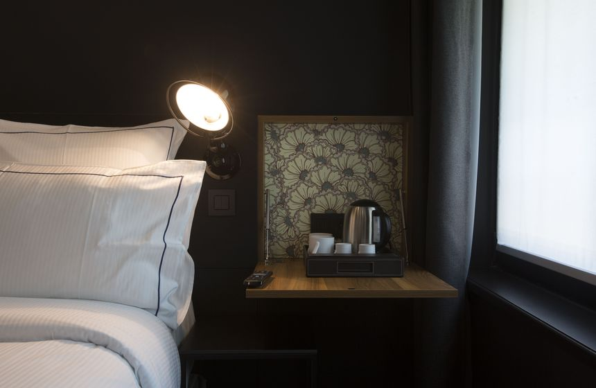 Executive rooms at the Louvre-Lens Hotel near Calais in Northern France