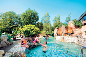 Aquamundo waterpark at Center Parcs - visit France