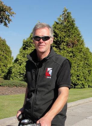 History buff Carl Ooghe offers guide bike tours of the Chemins de la Mémoire.